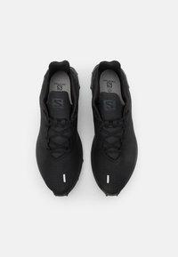 Salomon - ALPHACROSS 3 - Trail running shoes - black - 3