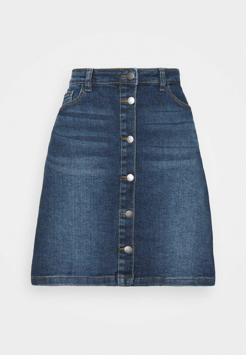 JDY - JDYTYSON LIFE  - Denim skirt - medium blue denim
