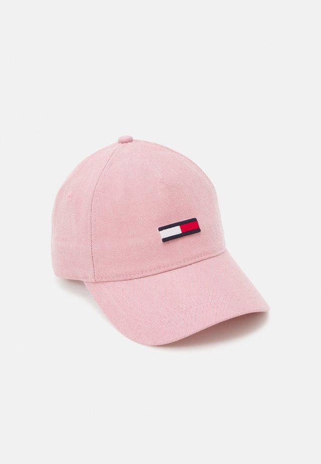 FLAG WASHED - Kšiltovka - pink