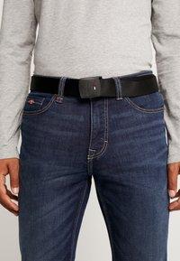 Tommy Jeans - BELT - Pásek - black - 1