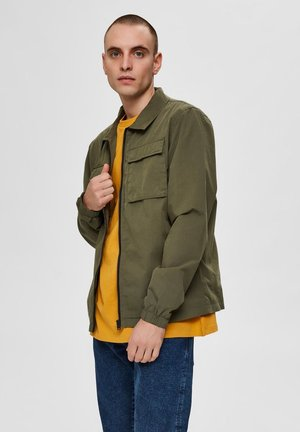 SLHNILES - Summer jacket - grape leaf