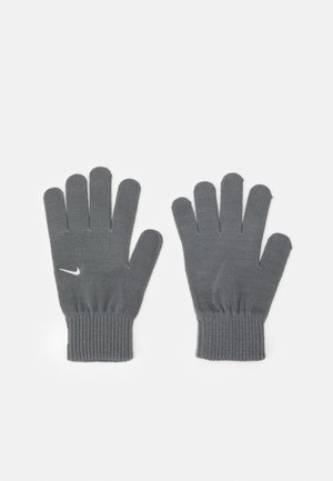 GLOVES UNISEX - Fingervantar - smoke grey/white
