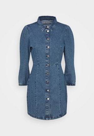 JDYATHENA DRESS - Dongerikjole - medium blue denim