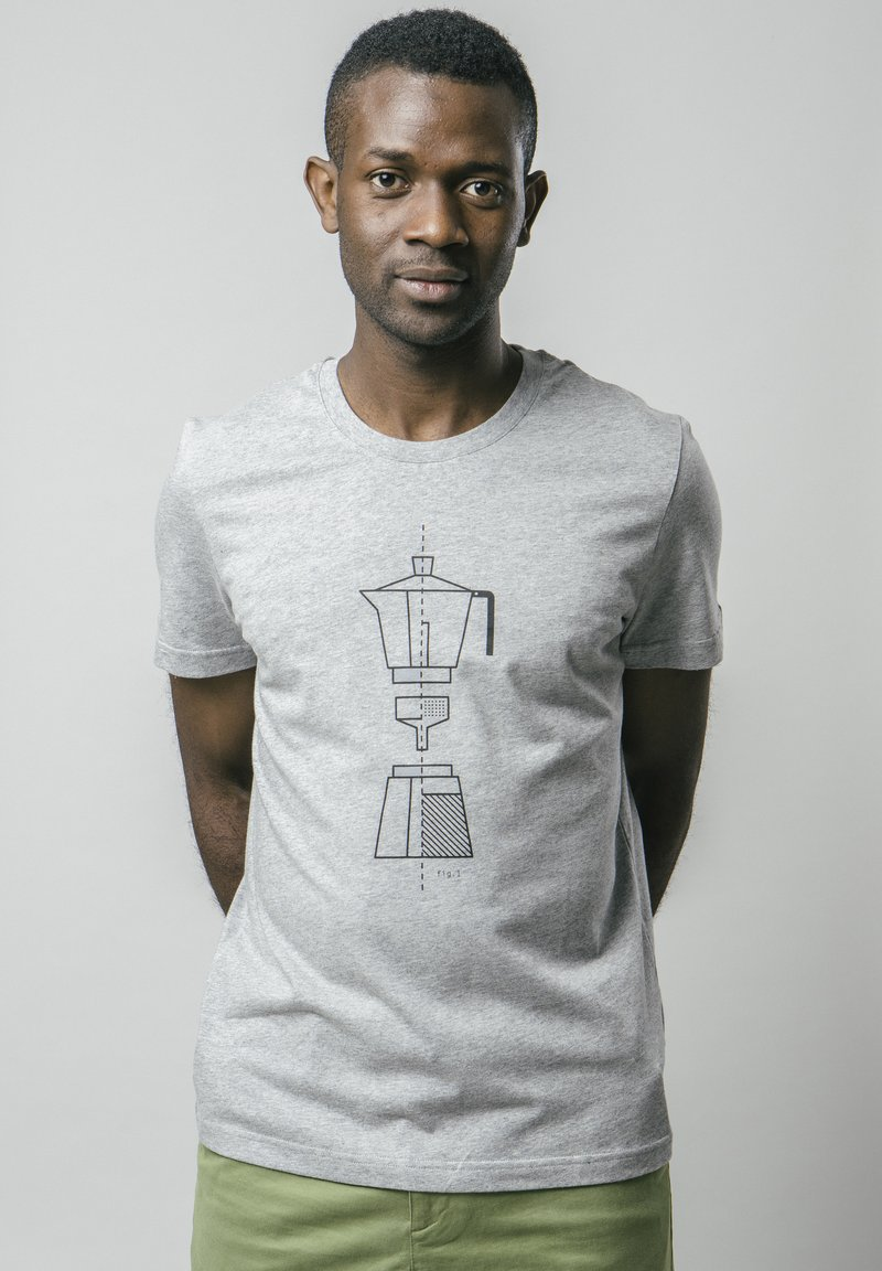 Brava Fabrics - T-shirt print - grey
