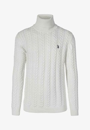 CHASE KNIT - Sweter - snow white