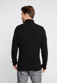 Pier One - Strickpullover - black