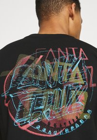 Santa Cruz - NO PATTERN DOT UNISEX - T-shirt imprimé - black - 5