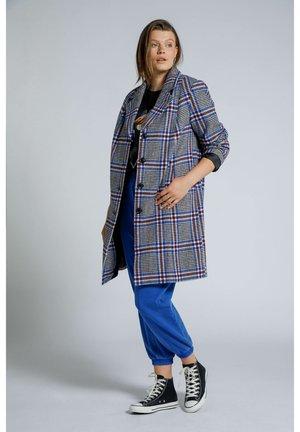 Short coat - kobaltblau