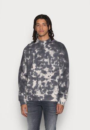 TIEDYE CREW NECK - Sweatshirt - gray storm