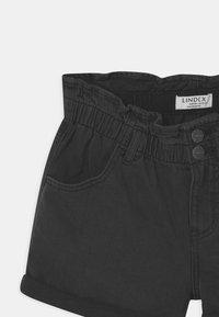 Lindex - JONNA - Denim shorts - black - 2