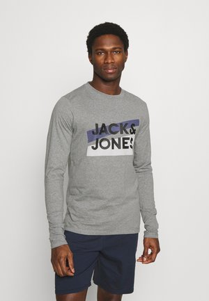 JACTROY  - Pyjama top - grey melange