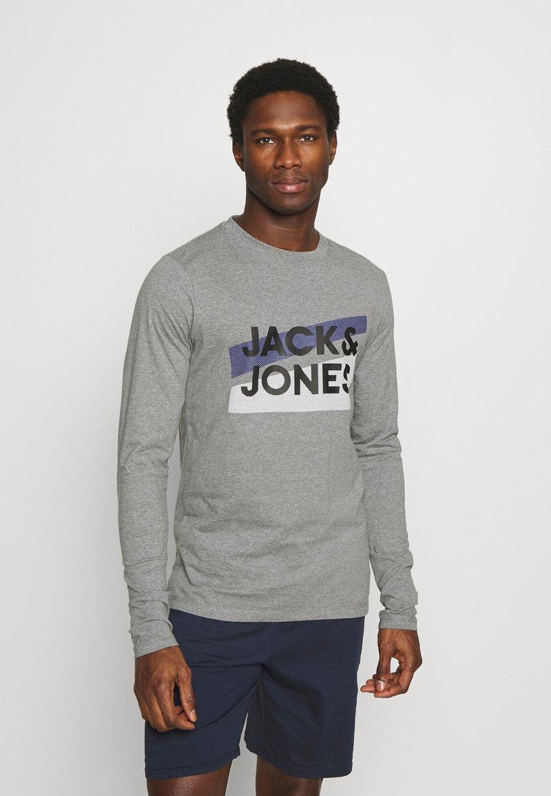 Jack & Jones - JACTROY  - Pyjama top - grey melange