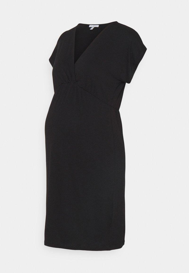 Envie de Fraise - EVI MATERNITY DRESS - Jerseykjole - black