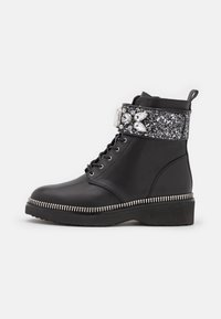 MICHAEL Michael Kors - HASKELL BOOT - Lace-up ankle boots - black - 1