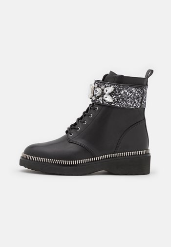 HASKELL BOOT - Lace-up ankle boots - black