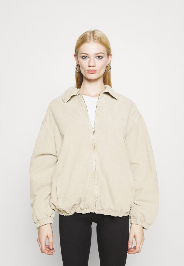 BILLY OVERSIZED WESTERN JACKET - Giubbotto Bomber - ecru