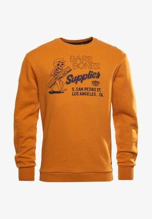 WORKWEAR CREW - Sweatshirt - toasted orange
