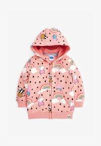 Next - PEPPA PIG  - Zip-up sweatshirt - pink - 0