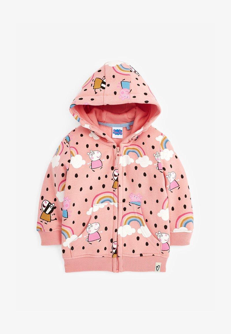 Next - PEPPA PIG  - Zip-up sweatshirt - pink
