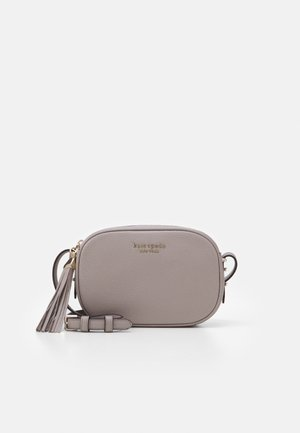 MEDIUM CAMERA BAG - Across body bag - warm taupe