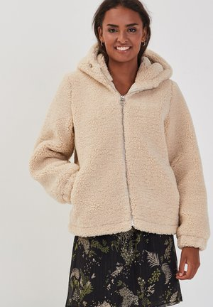 Fleece jacket - beige