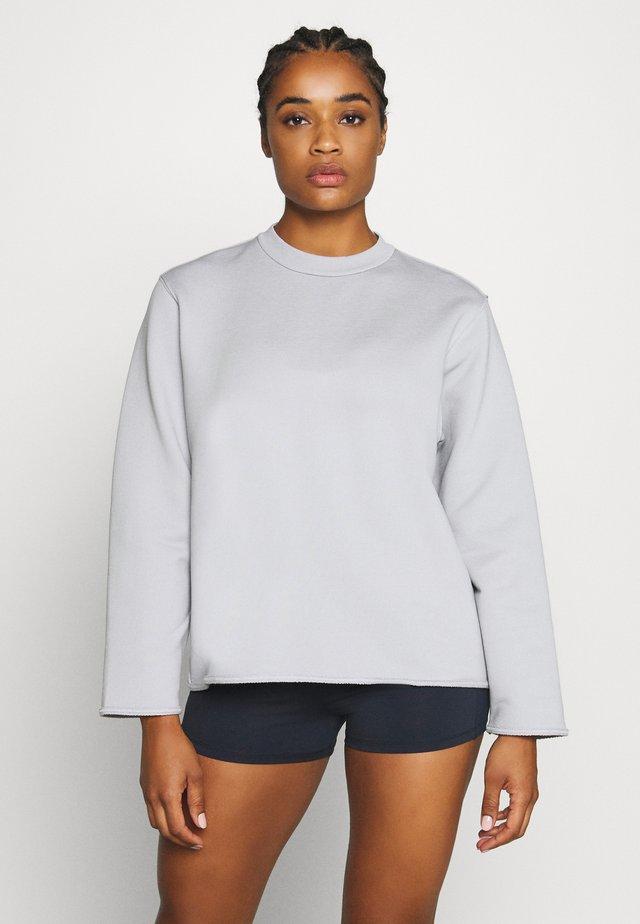 ZIP  - Sweatshirt - cloud