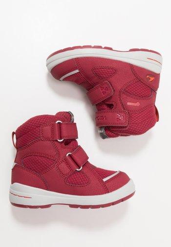 SPRO GTX UNISEX - Winter boots - dark red/red