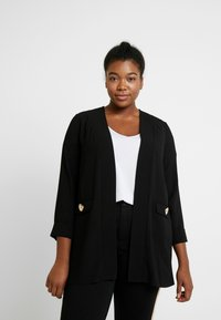 Evans - BUTTON POCKET  - Blazer - black - 0
