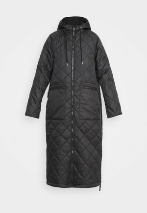 OUTDOOR COAT - Vinterkåpe / -frakk - black