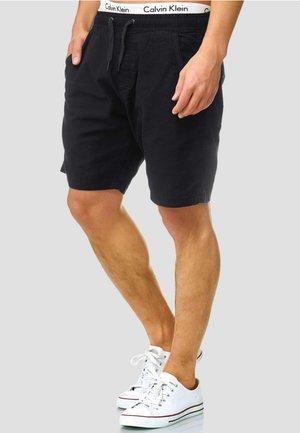 REGULAR FIT - Shorts - black