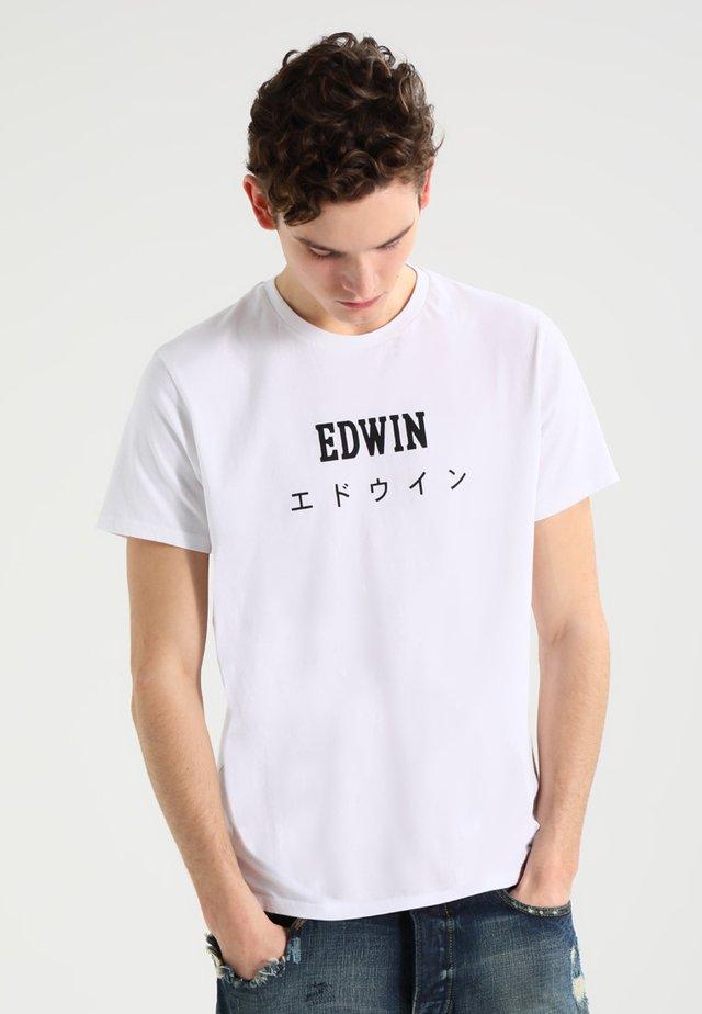 JAPAN - Triko spotiskem - white