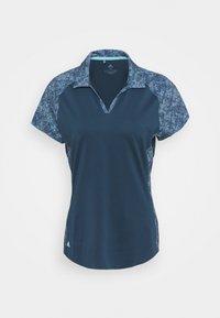 adidas Golf - ULTIMATE 365 PRINTED SHORT SLEEVE  - Polo shirt - crew navy - 0