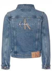 Calvin Klein Jeans - GIRLS TRUCKER  - Džínová bunda - blue denim - 1