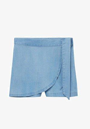 Jeansshort - lichtblauw