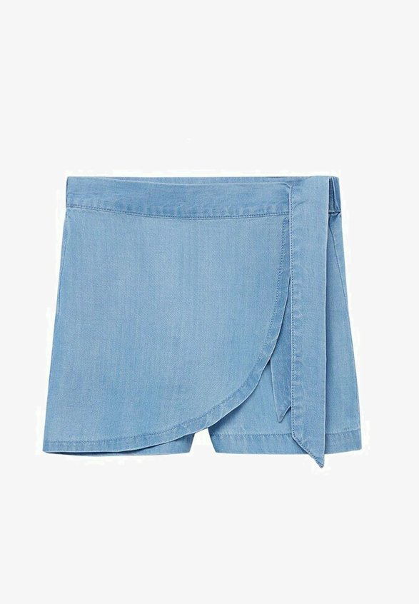 Mango - Jeansshort - lichtblauw