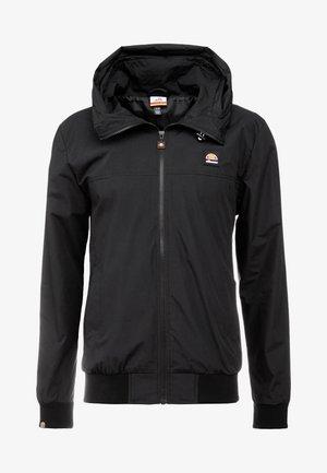 MONTIO - Summer jacket - black