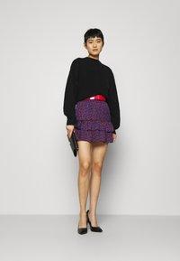 NIKKIE - SINCLAIR SKIRT - Mini skirt - rough red - 1