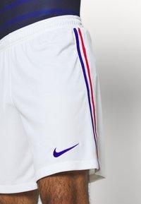 Nike Performance - FRANKREICH FFF SHORT - Short de sport - white/concord - 3
