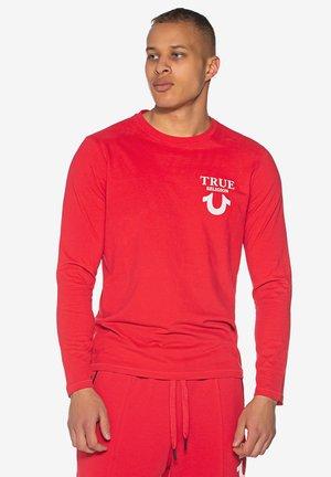 HORSESHOE  - Sweatshirt - ruby red