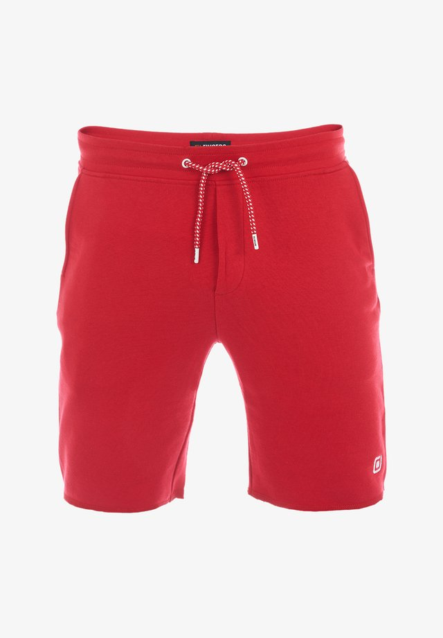 Shorts - middle red