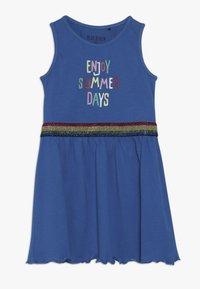 Blue Seven - OHNE ARM - Žerzejové šaty - ocean - 0