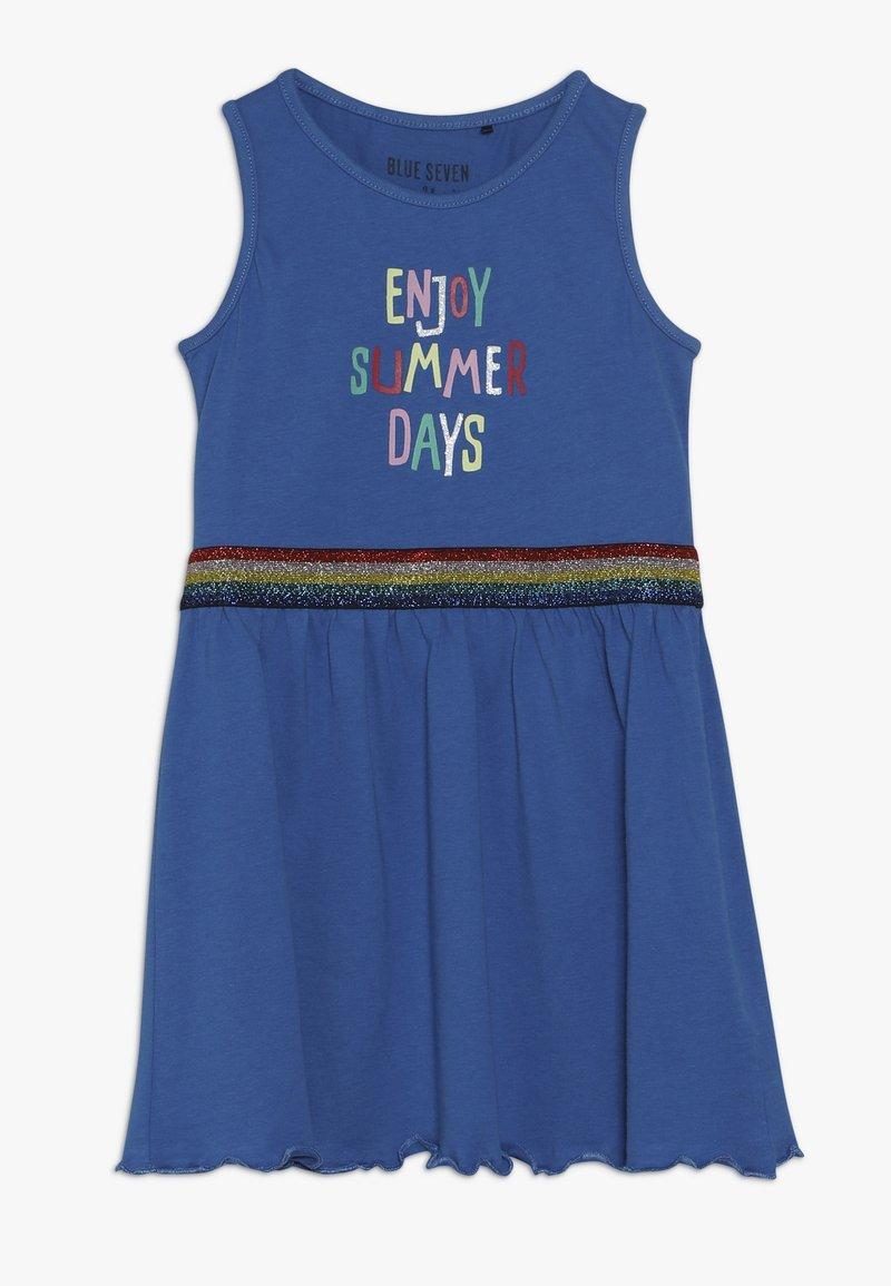 Blue Seven - OHNE ARM - Žerzejové šaty - ocean