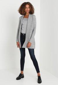 Zalando Essentials - Cardigan - mid grey melange - 1