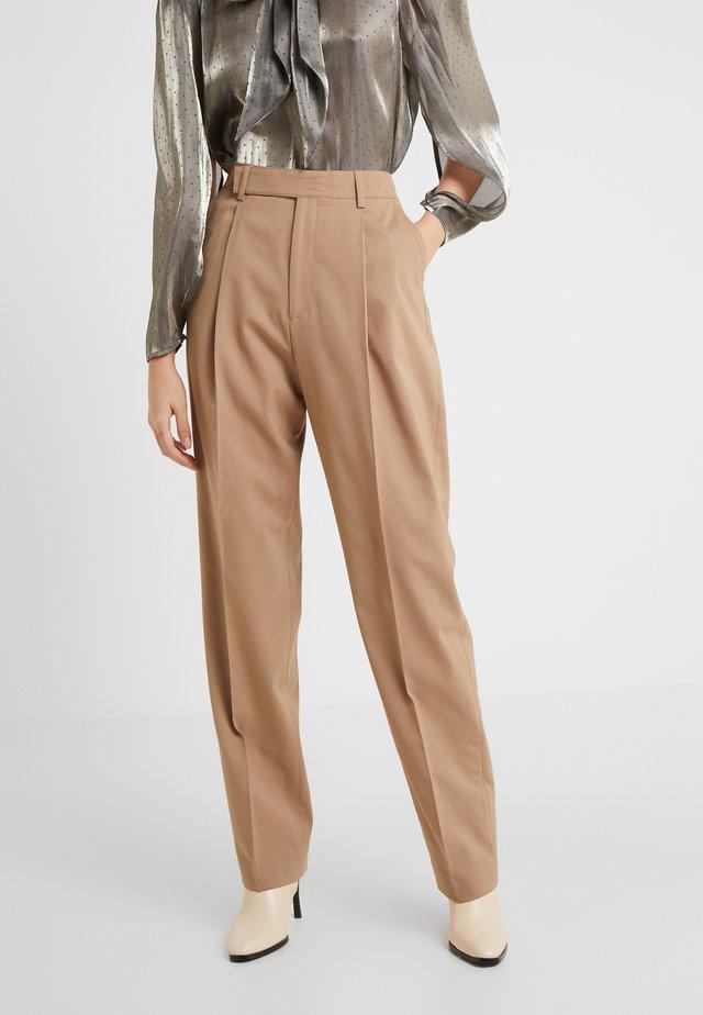 JULIE TROUSER - Kalhoty - dark khaki