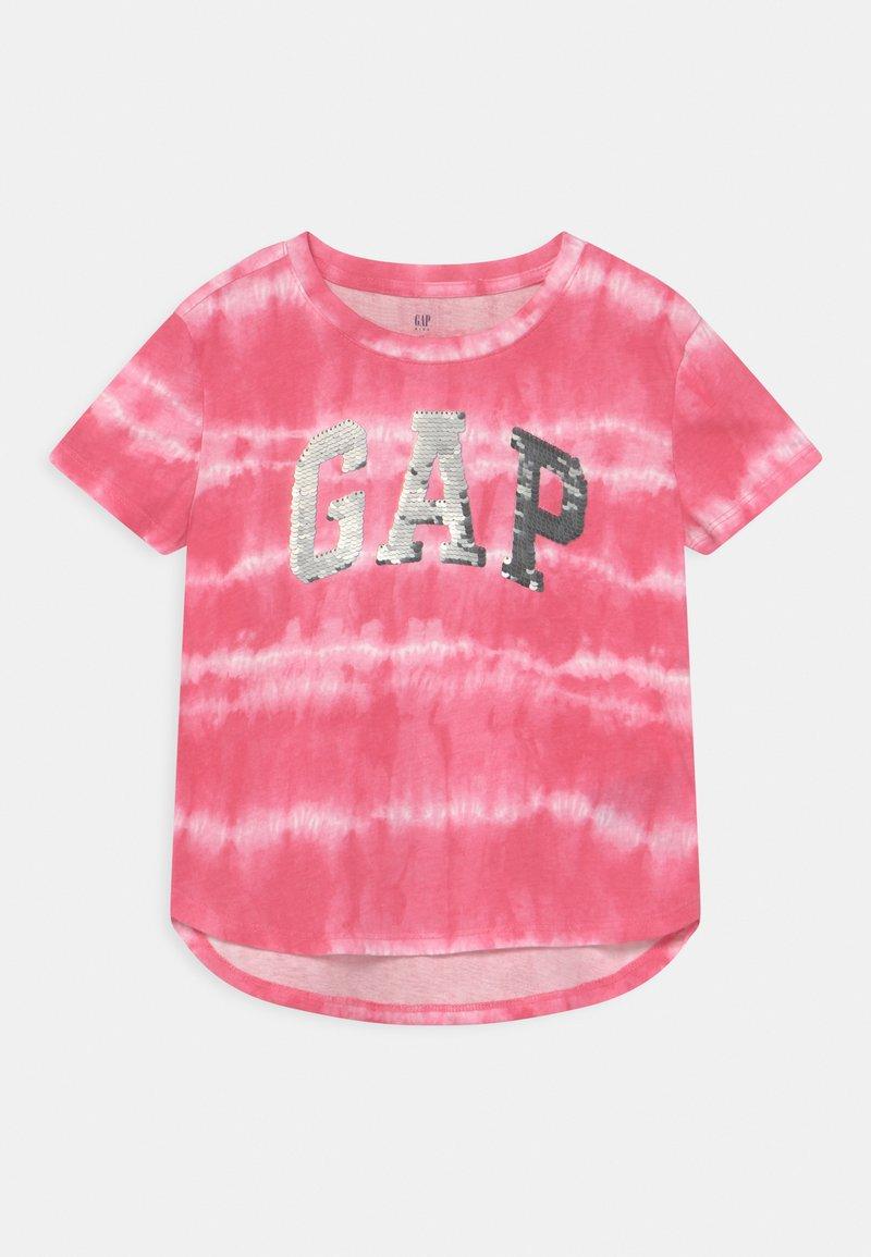 GAP - GIRL LOGO - T-shirts print - pink