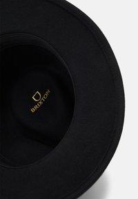 Brixton - MESSER FEDORA - Hat - black - 3
