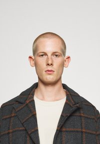 Another Influence - BLAKE LONGLINE CASUAL OVERCOAT - Classic coat - charcoal - 2