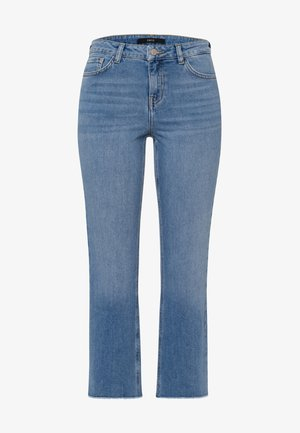 Straight leg jeans - light blue stone wash