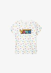 Vans - Print T-shirt - white - 0