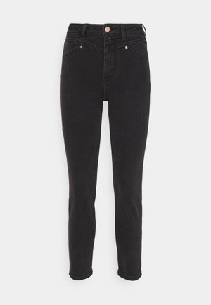 ONLERICA LIFE - Jeans straight leg - black denim